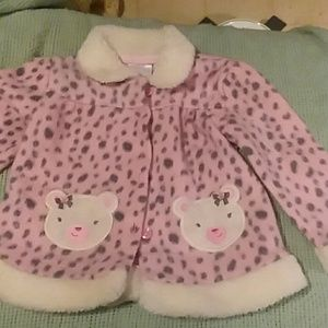A girls 12 month jacket.